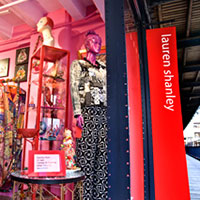 Lauren's shop at the Oxo Tower
